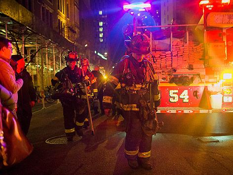 Feuerwehr in Manhattan