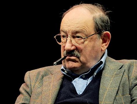 Schriftsteller Umberto Eco im Jahr 2011