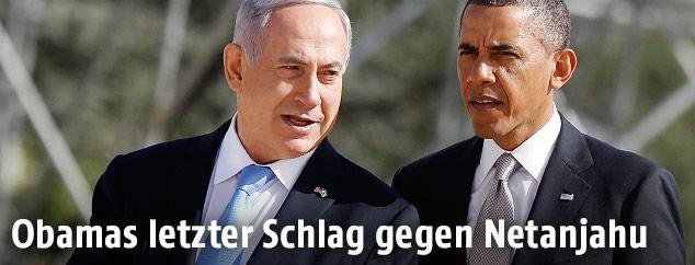 Benjamin Netanyahu und Barack Obama
