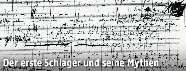 An der schönen, blauen Donau, Klavierauszug der Chorfassung