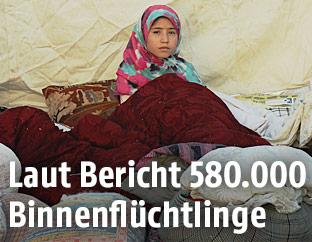 Flüchtlingskind in Afghanistan