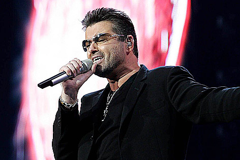 George Michael im Jahr 2007 auf der Bühne