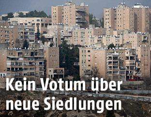 Siedlungen in Ostjerusalem