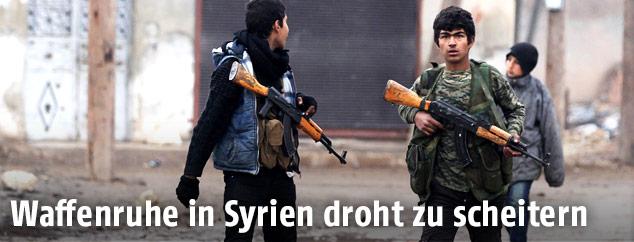 Rebellen in Syrien
