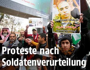 Proteste nach Verurteilung eines Soldaten