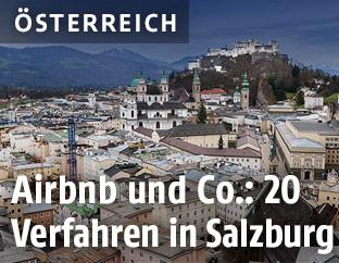 Stadtansicht von Salzburg