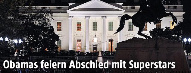 White House bei Nacht