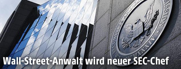Hauptquartier der US-Börsenaufsicht Securities and Exchange Commission (SEC)