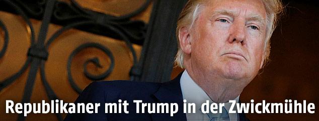 Zukünftiger US-Präsident Donald Trump
