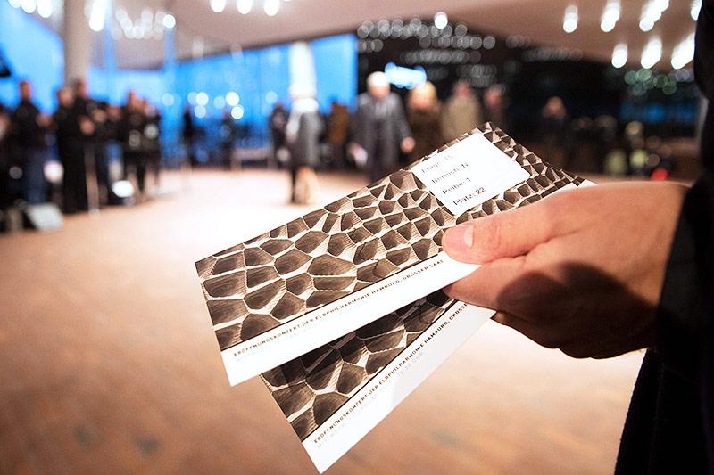Eintrittskarten für die Elbphilharmonie in Hamburg
