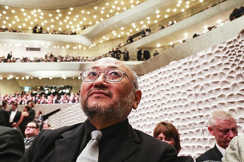 Der Akustiker Yasuhisa Toyota