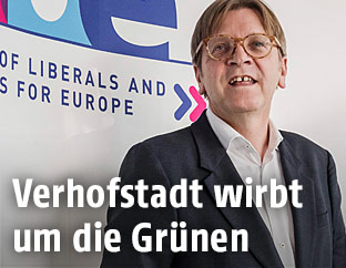 Guy Verhofstadt, Chef der liberalen Fraktion ALDE