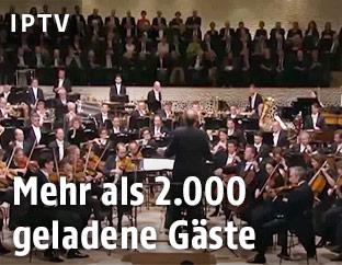 Eröffnungskonzert in der Elbphilharmonie in Hamburg