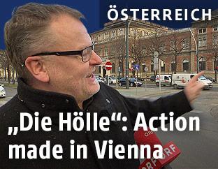 Regisseur Stefan Ruzowitzky am Wiener Ring