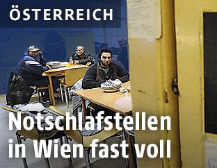 Notschlafstelle in Wien