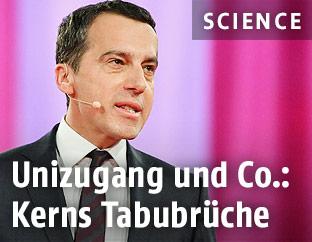 Bundeskanzler Christian Kern