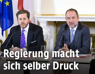 Harald Mahrer und Thomas Drozda