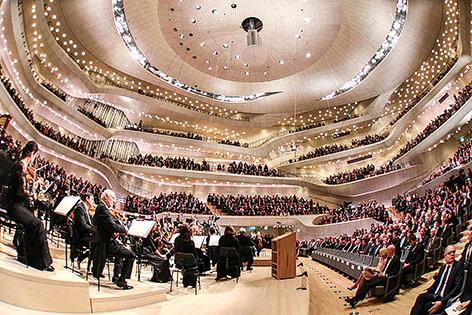 Innenansicht der Elbphilharmonie in Hamburg