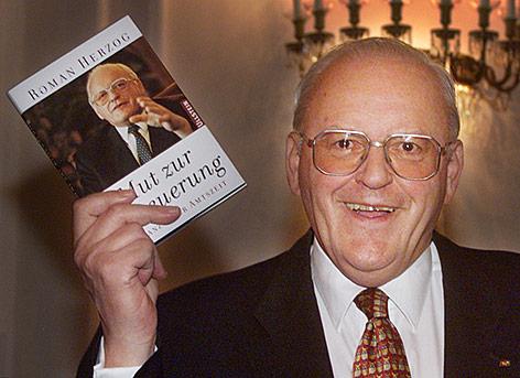 Archivfot von Deutschlands Altbundespräsident Roman Herzog