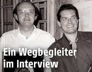 Horst Bork und Falco