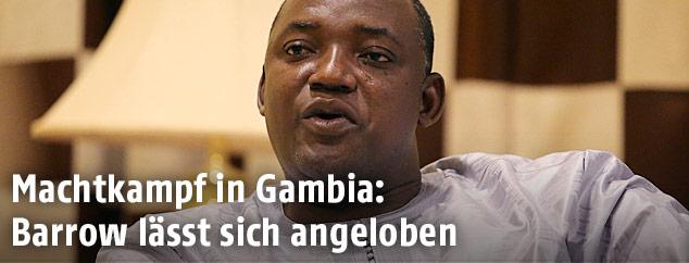 Adama Barrow, Wahlsieger in Gambia