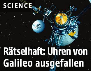 Modell eines Galileo Sateliten