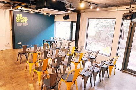 Klassenraum der School of Life, Seoul