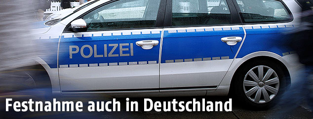 Deutsches Polizeiauto