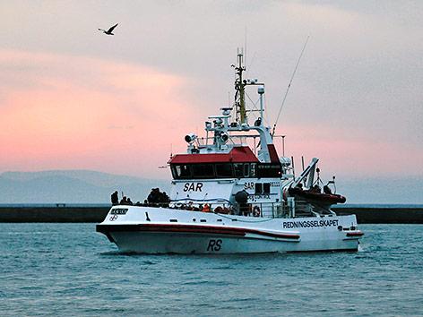 Ein Frontex-Schiff
