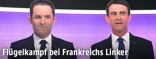 Benoit Hamon und Manuel Valls