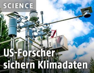 Messanlage für Klima und Luft