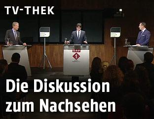 Reinhold Mitterlehner und Heinz-Christian Strache