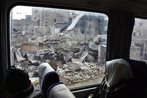Zug in Aleppo