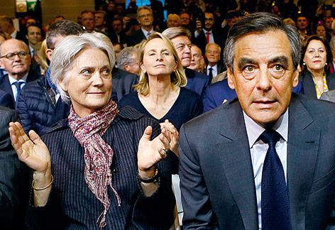 Francois Fillon und seine Ehefrau Penelope