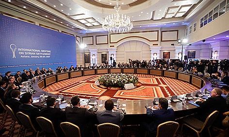 Syrien-Gespräche in der kasachischen Hauptstadt Astana