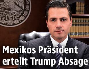 Mexikos Präsident Enrique Pena Nieto