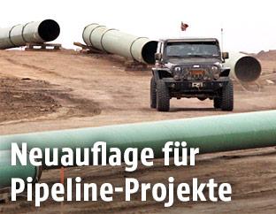 Baustelle der Dakota Access Pipeline