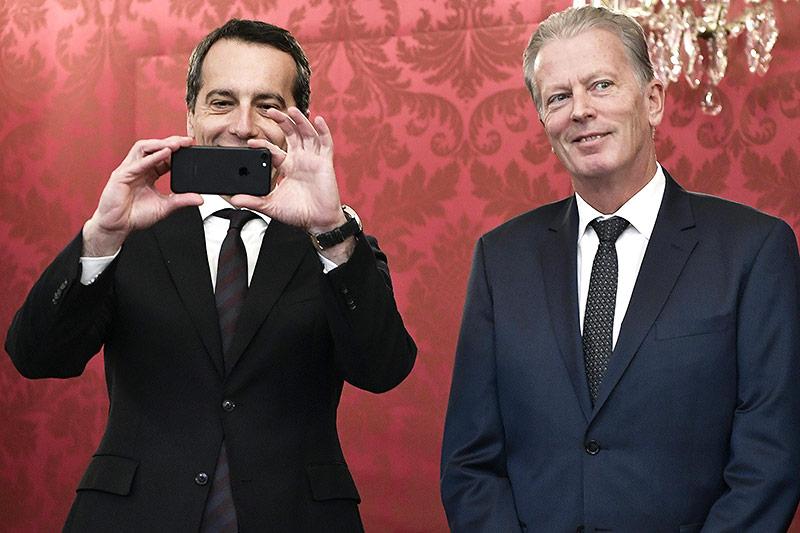 Bundeskanzler Christian Kern und Vizekanzler Reinhold Mitterlehner