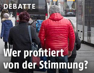 Straßenszene in Graz