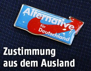 AfD-Partei-Anstecknadel