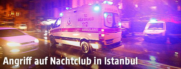 Rettungsauto in Istanbul