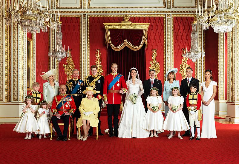 Das offizielle Hochzeitsfoto von William und Kate