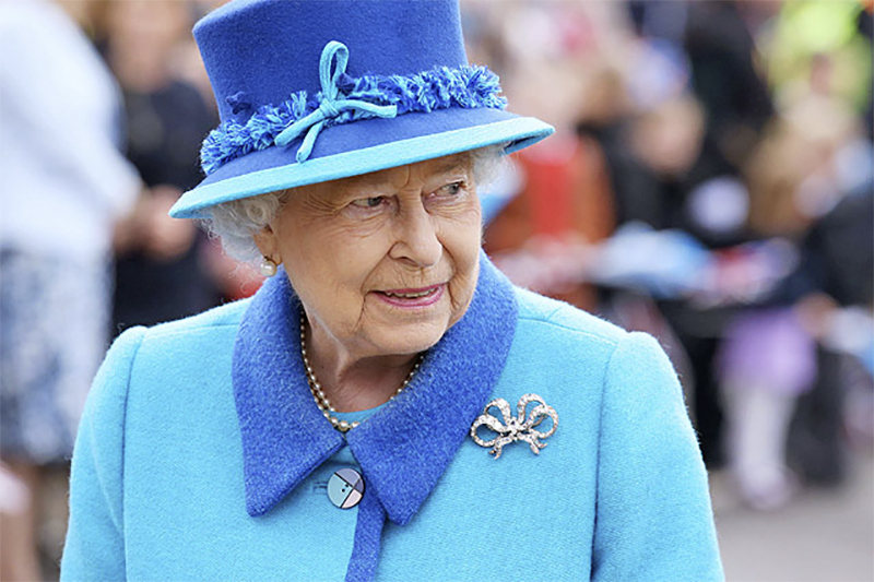 Queen Elizabeth im September 2015 in Schottland