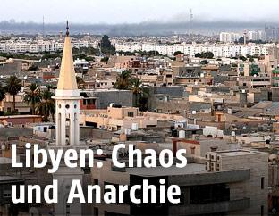 Luftansicht von Tripolis