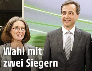 Elke Kahr (KPÖ) und Siegfried Nagl (ÖVP)
