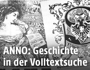 Historische Zeitungstitelblätter