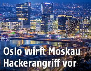 Skyline von Oslo