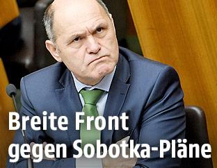 Innenminister Sobotka