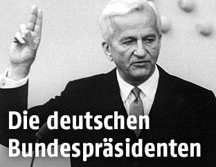 Der ehemalige deutsche Bundespräsident Richard von Weizsäcker