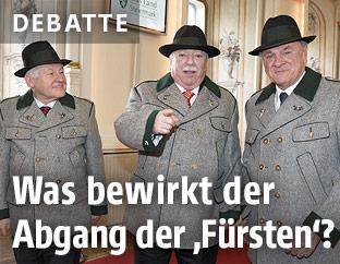 Landeshauptmänner Josef Pühringer, Michael Häupl und Erwin Pröll